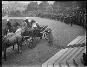 At the opening of the 1907 Parliament, Wellington