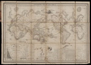 Emigration map of the world [cartographic material] / engraved by B.R. Davies.