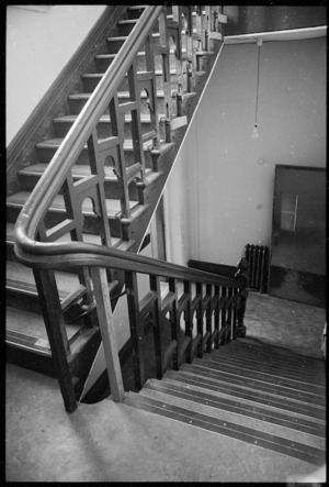 View of part of a staircase, Wellington College