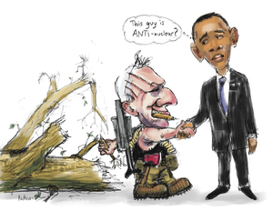 """""""This guy is ANTI-nuclear?"""" 10 April 2010"""