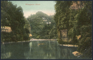 Postcard. Wanganui River. Copyright T Pringle, Wellington, N.Z. 114. Printed in Germany. 96053 [1904-1914].
