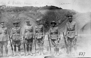 New Zealand soldiers at Trentham