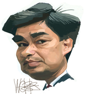 Abhisit Vejjajiva. 1 May 2010