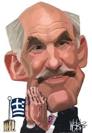George Papandreou. 3 May 2010