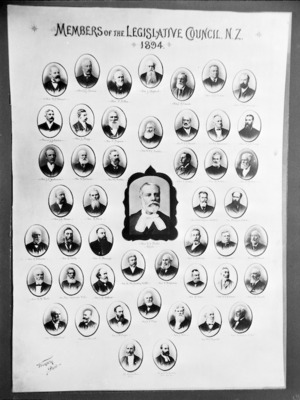 Members of the Legisative Council of New Zealand