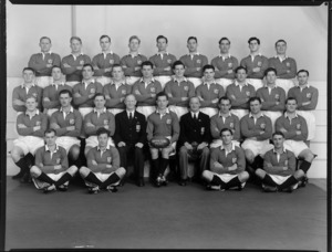 The British Lions rugby union team, New Zealand tour