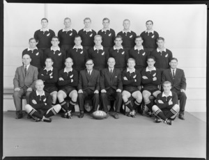 All Blacks, New Zealand representative rugby union team [NZ vs South Africa 1965 ?]