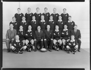 All Blacks, New Zealand representative rugby team, 1965