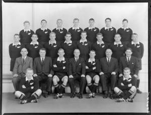 All Blacks, New Zealand representative rugby union team [third test vs Australia ?]