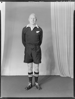 J C Kearney, member of the All Blacks, New Zealand representative rugby union team