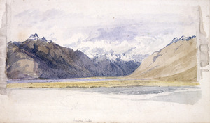 Hodgkins, William Mathew, 1833-1898 :Matukituki Valley. [1860-1895].
