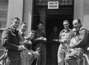 Repatriated New Zealand prisoners of war, Folkestone, England