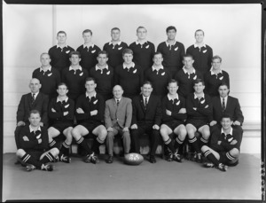 All Blacks, New Zealand representative rugby union team, 75th jubilee NZRFU, vs Austraria