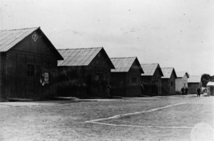 Campo 85, prisoner of war camp at Tututano, near Brindisi, Italy
