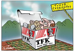 Tuhoe Takeaways - TPK - Tuhoe Fried Key. 16 May 2010