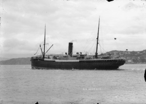 "Photograph of the ship, ""Mokoia"""