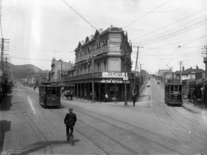Corner of Riddiford and Rintoul Streets, Newtown, Wellington