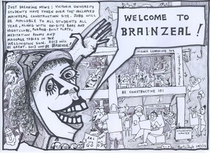 Doyle, Martin, 1956- :'Welcome to Brainzeal!' 25 February 2013
