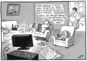 Darroch, Bob, 1940- :''Stop making a fuss!...' 11 March 2013