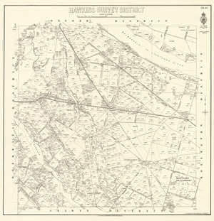 Hawkins Survey District [electronic resource].