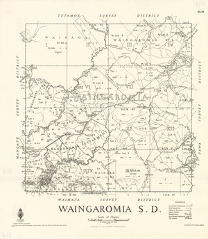 Waingaromia S.D. [electronic resource] / W.S. Taylor, delt., Oct. 1938.