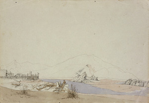 [Smith, William Mein] 1799-1869 :Mouth of the Pahaoa. [1850s?]