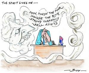 Body, Guy Keverne, 1967-:The spirit lives on. 15 April 2013