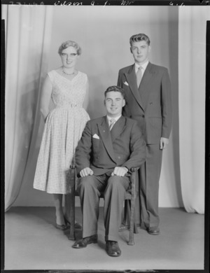 Probably members of the Wilson family