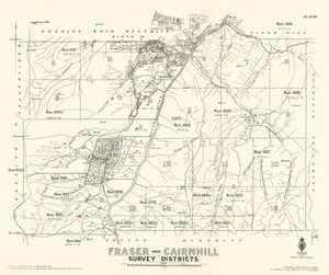 Fraser and Cairnhill survey districts [electronic resource] / drawn by V.S.P. Pickett July 1919.