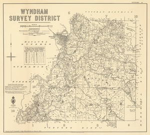 Wyndham Survey District [electronic resource] / drawn by W. Deverell, July 1902.