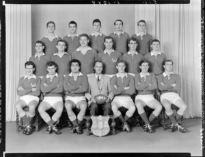 Victoria University of Wellington Rugby Football Club, junior 3rd grade team of 1962