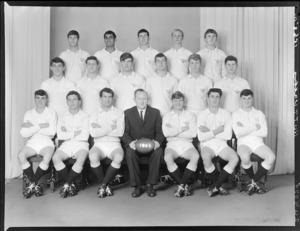 Hutt Valley High School 1st XV rugby football team of 1965