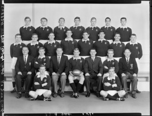 Wellington Rugby Football Union 2nd and 3rd grade representative teams of 1965
