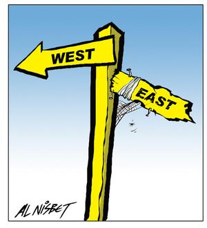 Nisbet, Alastair, 1958- :[West east]. 10 May 2013