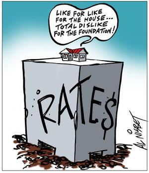 Nisbet, Alastair, 1958- :[Rates base]. 1 May 2013