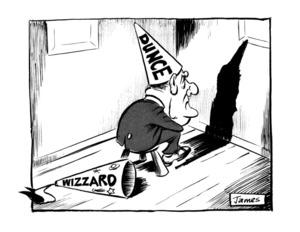Lynch, James Robert, 1947- :'Wizzard' 'Dunce'. 10 September 1984