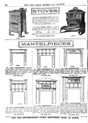 Farmers' Trading Company :Stoves; Mantelpieces. [1925].