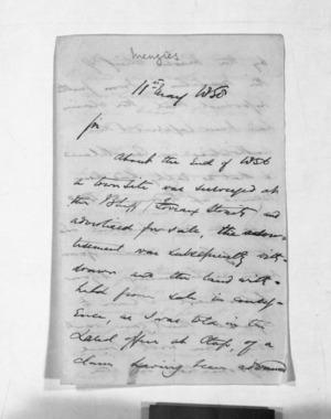 Inward letters - Surnames, Mau - Mer