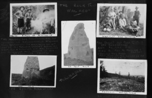 Boy Scouts and a rock called Tokohaere in the valley of the Mangakomua Stream