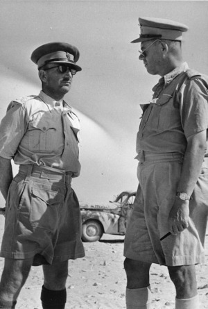 George Herbert Clifton and Lindsay Merritt Inglis in Egypt during World War 2