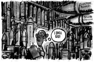 "Evans, Malcolm Paul, 1945- :""I smell gas!"". 17 June 2013"