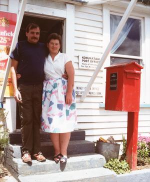 Michael and Brenda Graves, Post Masters and General Store keepers, Kohuratahi