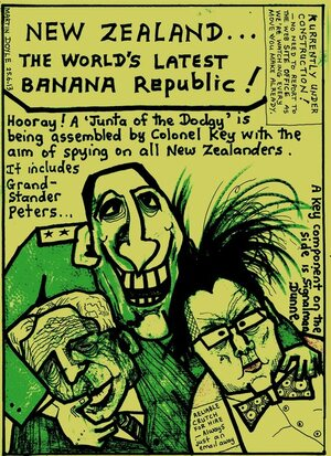 Doyle, Martin, 1956- :New Zealand...The World's Latest Banana Republic!. 25 June 2013