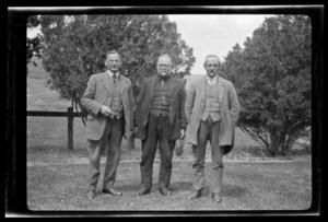 Mr Mollgaard, Uncle Peter Berntsen, and Uncle Ole Olsen