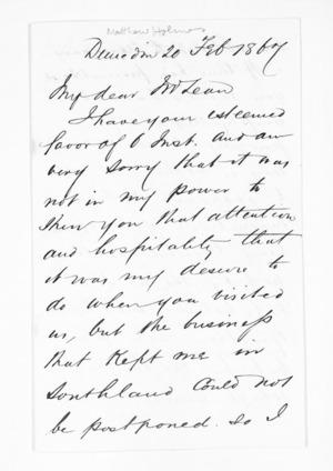 Inward letters - Surnames, Hol - Hol