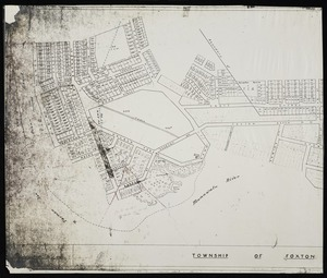 Manawatu County Council :Township of Foxton Beach [copy of ms map]. Plan no. IIII, Sanson, 1955.