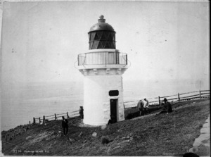 Lighthouse at Taiaroa Head, Dunedin
