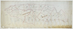 [Creator unknown] :Hohotaka Block, [Ruapehu District] [ms map]. [n.d.]