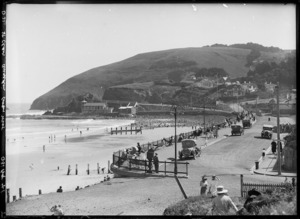 Saint Clair, Dunedin, showing beach and surrounding area