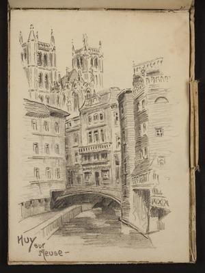 O'Grady, James, 1882?-1956 :Huy sur Meuse [1919?]
